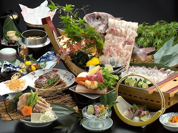 ※写真は鳴門海月のお食事です