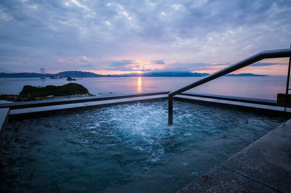 ※鳴門グランドホテル海月の露天風呂