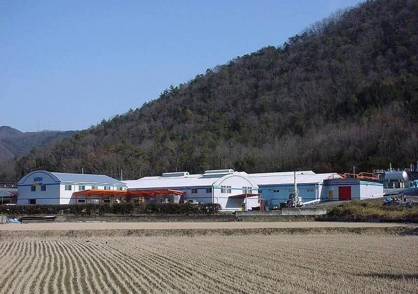 昔からある上郡工場