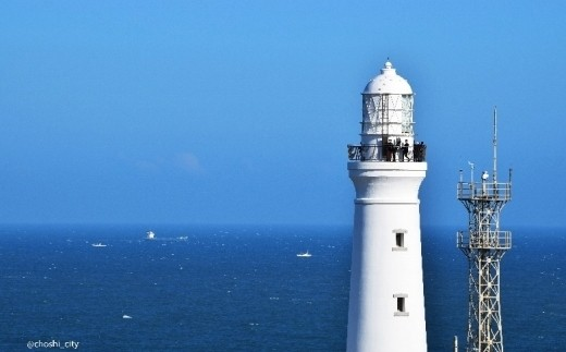 本州最東端の岬に立つ犬吠埼灯台