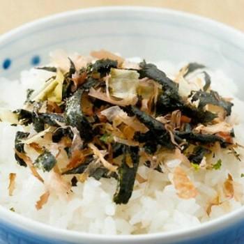 「海苔とかつおぶしと昆布」 おいしい召し上がり方。