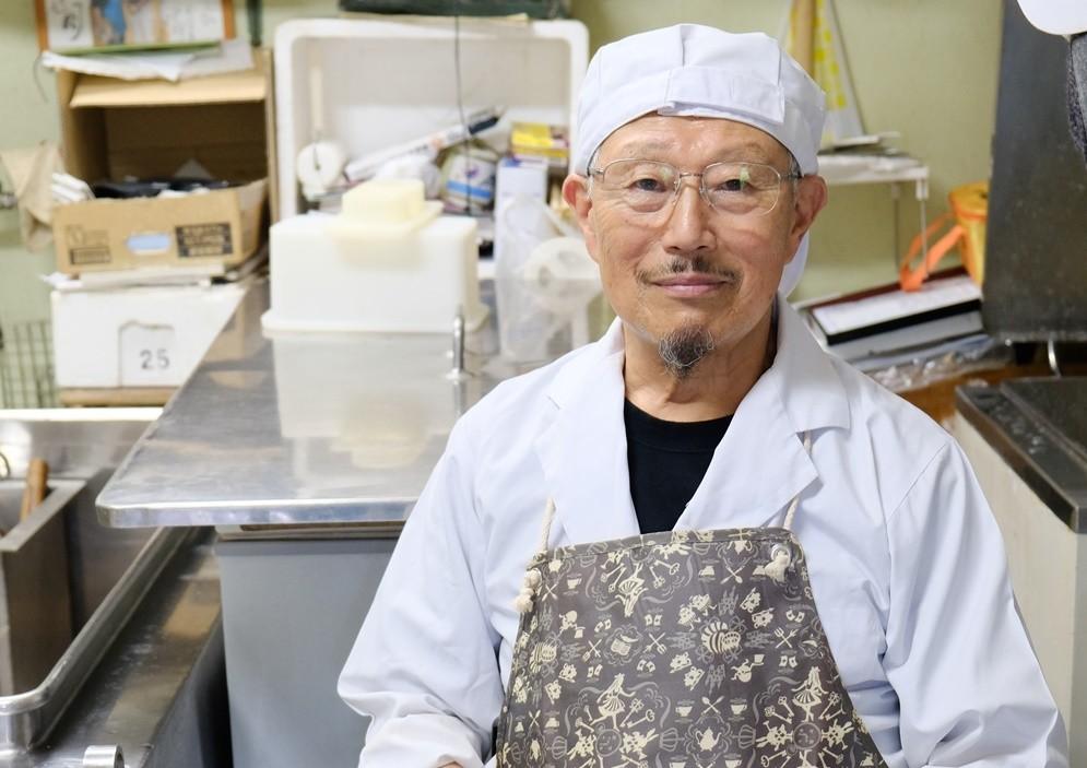 大迫チーズ生産組合組合長  伊藤行雄さん