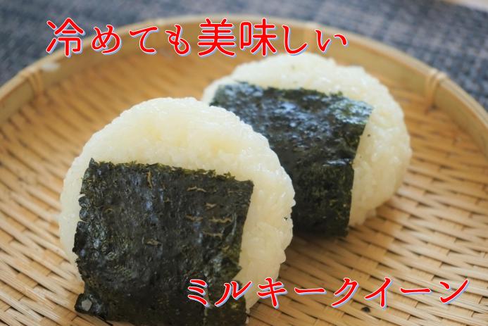 もち米のような粘りで冷めても美味しい おにぎり・お弁当にピッタリです