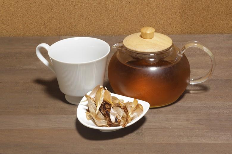 黒ニンニク皮茶