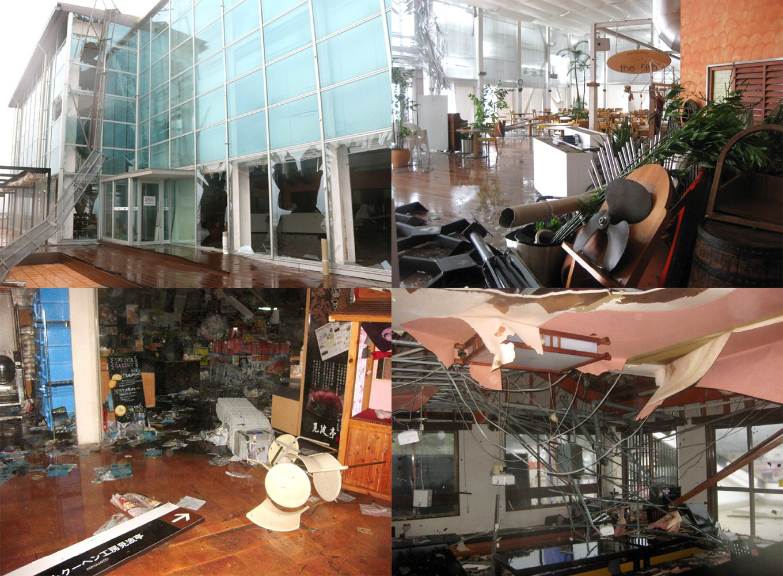 令和元年台風15号後の被害状況