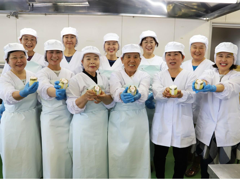 山北みかんバターは、地域イベントなどでも大好評です!