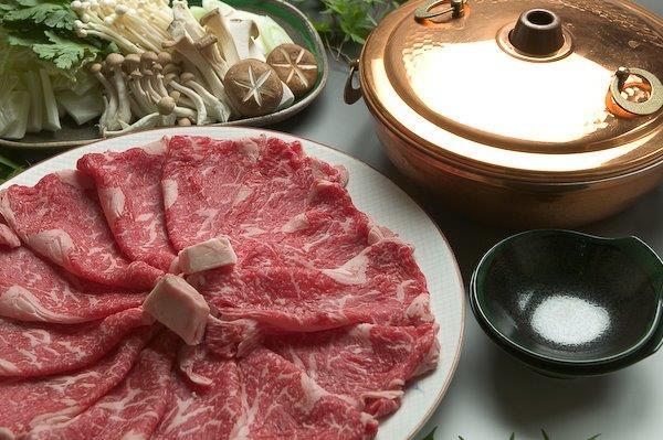 甲州ワインビーフ熟成肉ローススライスすき焼き