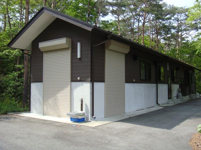 富士河口湖町ジビエ食肉加工施設