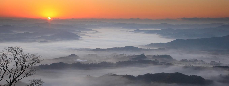 九十九谷展望公園からの眺望