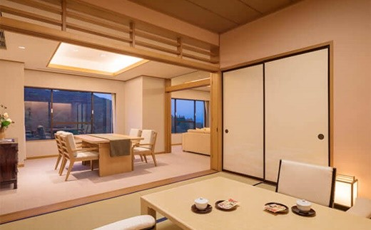 ホテル千秋閣 客室一例