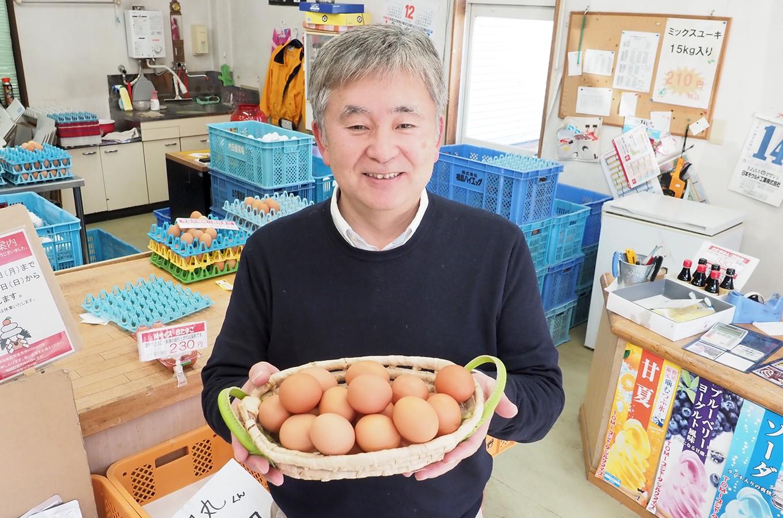 株式会社菜の花エッグ 代表取締役 梅原正一