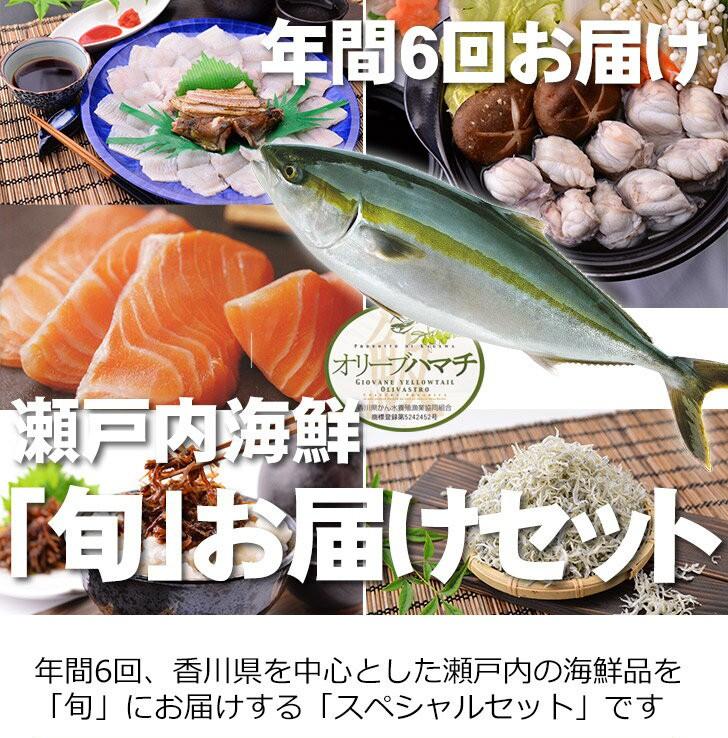 瀬戸内海鮮 「旬」お届けセット