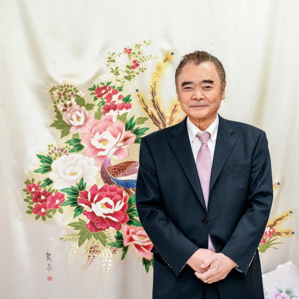 正絹羽毛ふとん株式会社  代表取締役社長 村石 力弥