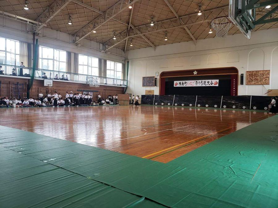 いちご祭り弓道大会の様子