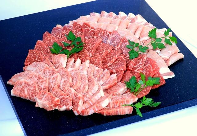 【2回目】飛騨牛カルビ&赤身と飛騨高山豚 豪華焼肉セット