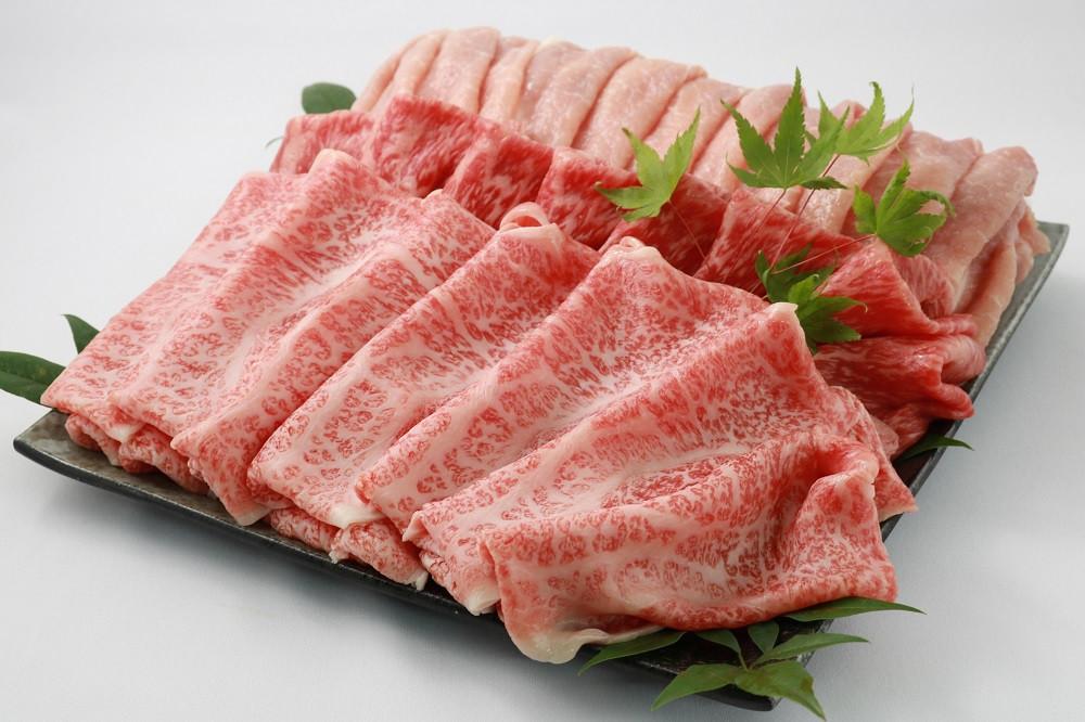 【3回目】飛騨牛と飛騨高山豚 豪華すき焼き(しゃぶしゃぶ)セット