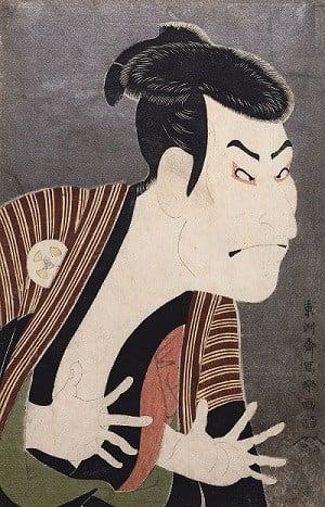 「三代目大谷鬼次の江戸兵衛」