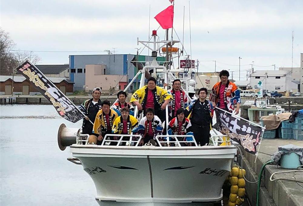 水産物の魅力を伝えていこうという漁師の意気込みと熱い想いの組合青年部