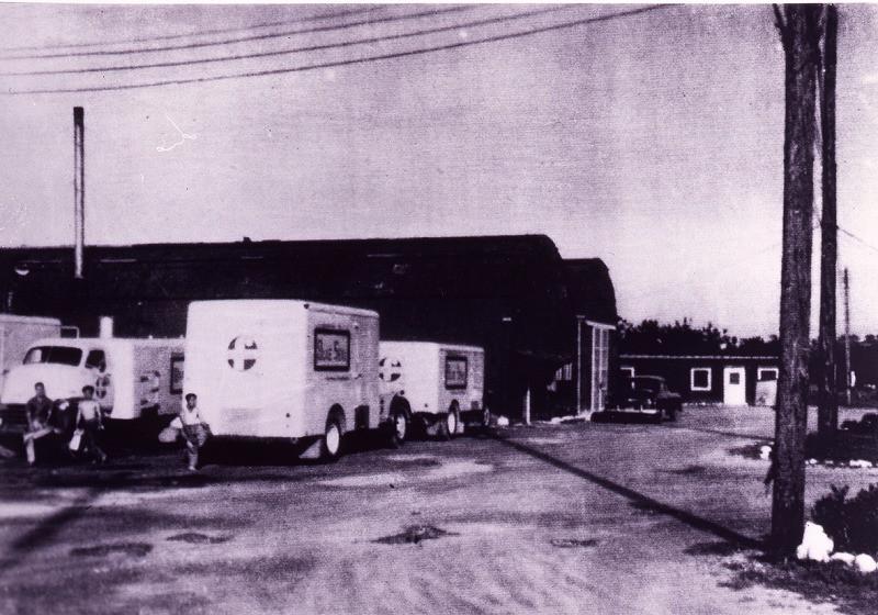 1940-1950年代基地内