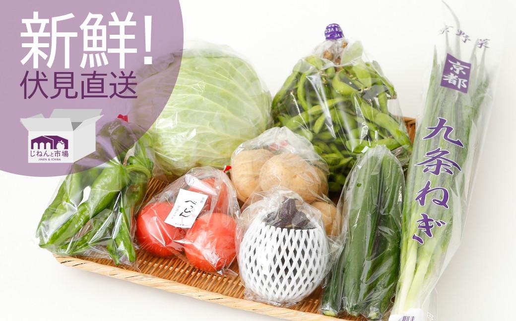 伝統の京野菜や新京野菜など市内でしか生産できない珍しい野菜も登場