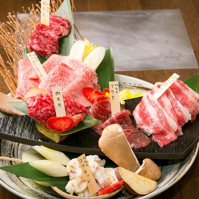松阪牛五種食べ比べセット(肉の種類は5種類となります)