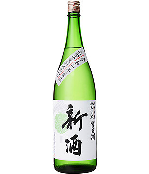吉乃川 新米仕込み新酒 1800ml