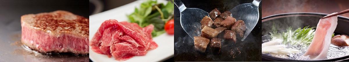世界に誇る宮崎牛を始め、美味しいお肉が大集合(画像をクリック)