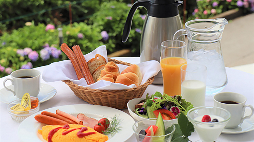 朝食のイメージです。