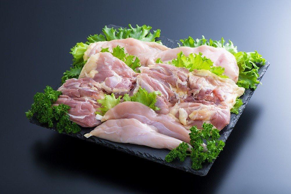 モモ肉、むね肉、ささみ(各2枚ずつ)計1.2kg前後