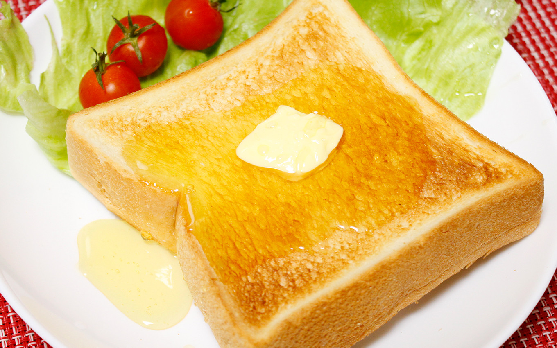 お手軽朝ごはん「ハニートースト」
