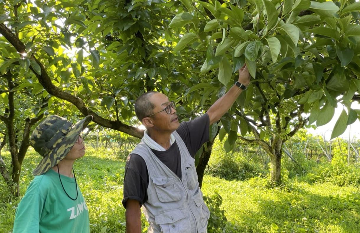 困難な状況に負けることなく農作業を行う須田さんご夫妻