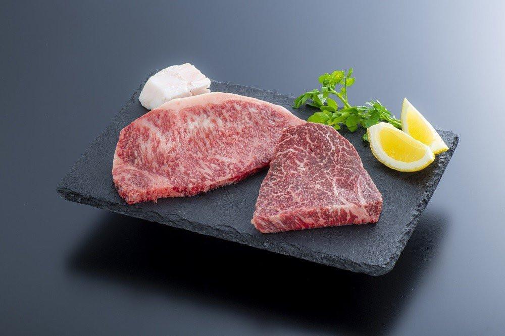 おおいた和牛ステーキ モモ150g×1枚・ロース160g×1枚