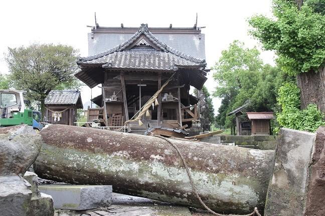 護比君(ごしきみ)神社  (高木)