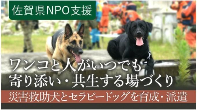 災害救助犬とセラピードッグを育成・派遣し、ワンコと人がいつでも寄り添い・共生する拠点をつくりたい!