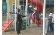 道の駅みとう河川公園遊具設置