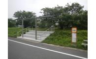 公共バス待合所を新設。町民が利用しやすい環境を!