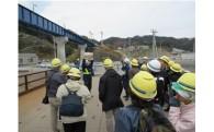 山田線復旧工事現場見学会を開催しました!