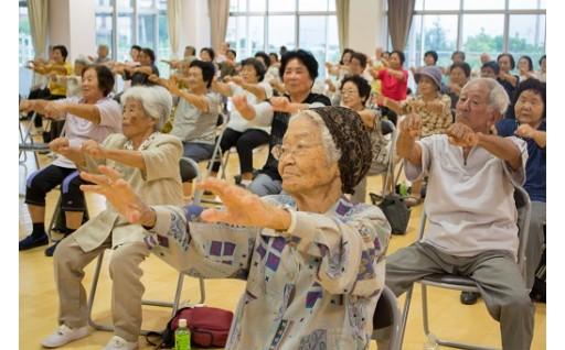 高齢者を対象とした「いきいき健康づくり事業」