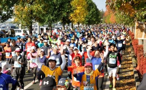 天童ラ・フランスマラソンを開催しました!!