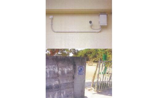町立教育施設防犯カメラ設置事業
