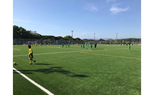 志布志に人工芝サッカー場が完成!