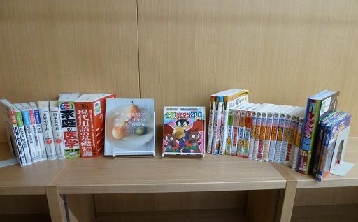 図書室・子ども図書室の図書整備を行いました。