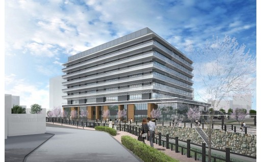 市役所の新庁舎建設にご支援をお願いいたします。