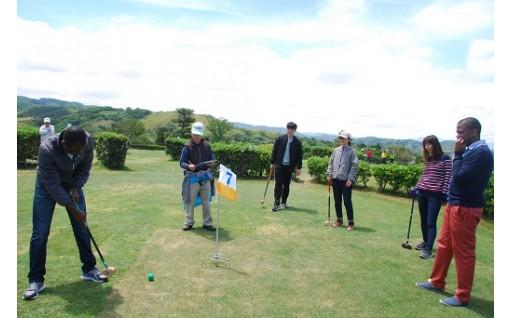 グラウンド・ゴルフ国際大会が開催されました!!
