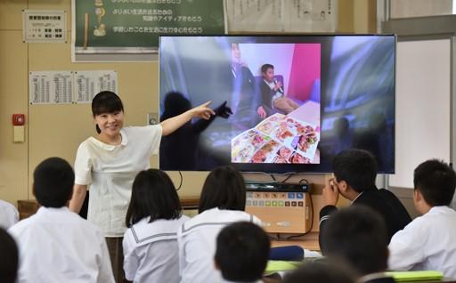 電子黒板で学校の授業をより分かりやすく