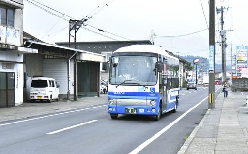 住民の大切な交通手段・地方バス運行を支援
