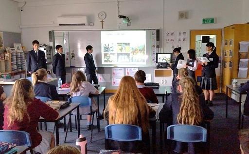 水俣高校スーパーグローバルハイスクール事業を支援