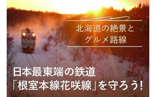 日本最東端の鉄路『根室本線花咲線』を守ろう!