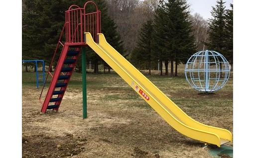 公園遊具の整備に活用しています