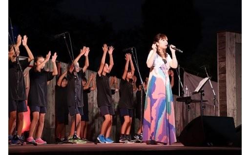岡本真夜さんをお招きし、星空コンサートを開催!